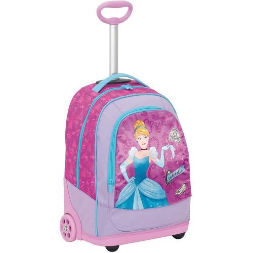 Big Trolley Principesse Disney, colore rosa