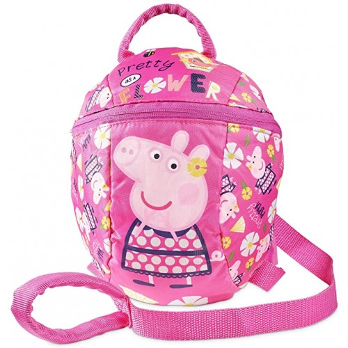 Backpack Peppa Pig da 32 cm, zainetto con renne