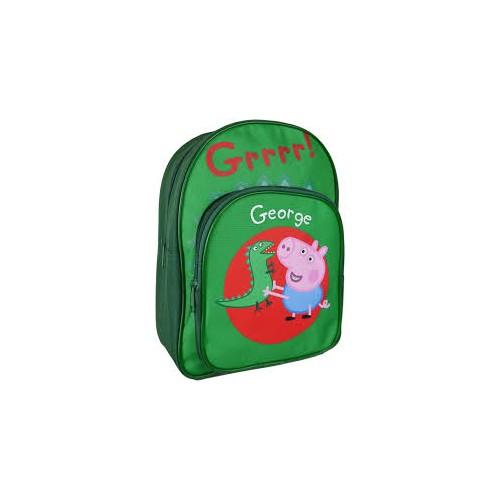 Zaino backpack George - Peppa Pig, per la scuola primaria