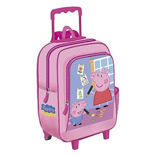 Zainetto trolley Peppa Pig Rosa