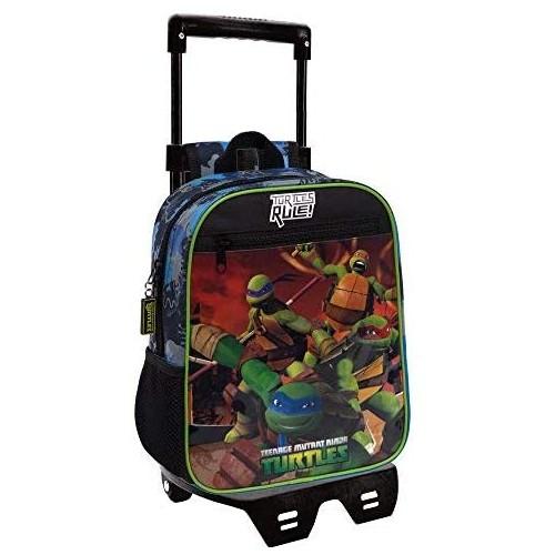 Zainetto trolley asilo Ninja Turtles