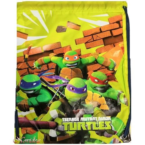 Sacca Tartarughe Ninja Mutant per la scuola o il tempo libero