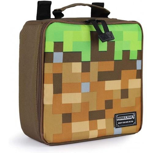 Borsa porta pranzo Minecraft per la scuola