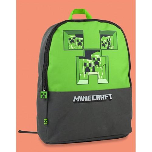 Zaino Minecraft Pixel Creeper