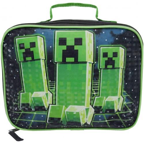 Borsa pranzo Minecraft Creeper