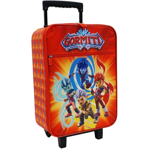 Valigia trolley per bambini dei Gormiti