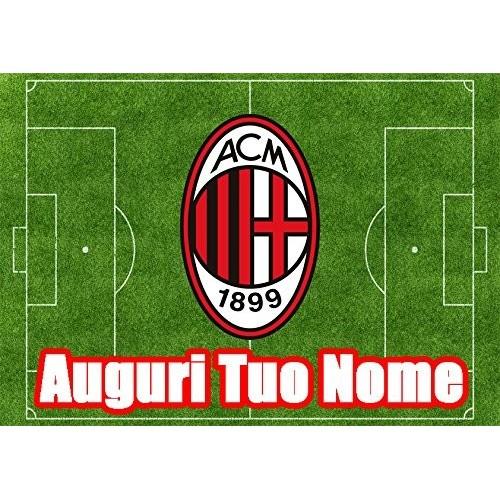 Cialda rettangolare A.C Milan