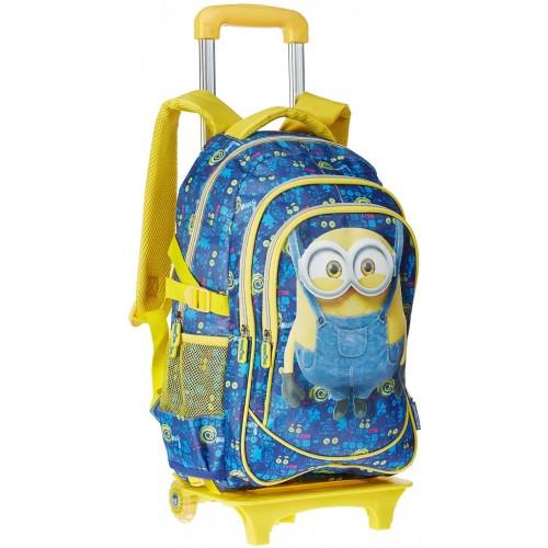 Zaino con carrello per la scuola - Minions Disney - trolley staccabile