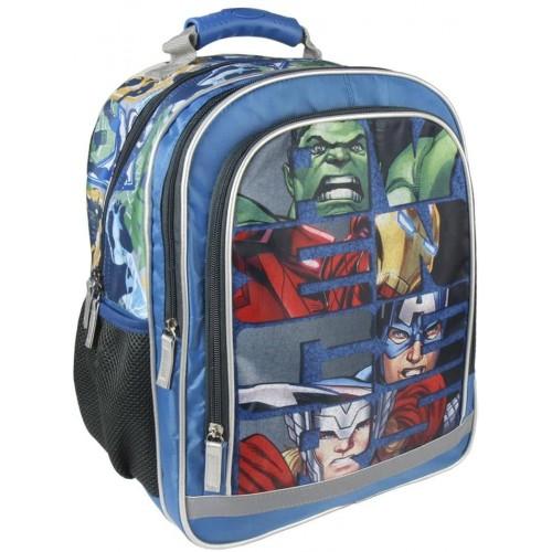 Zainetto Avengers per l'asilo multi tasca