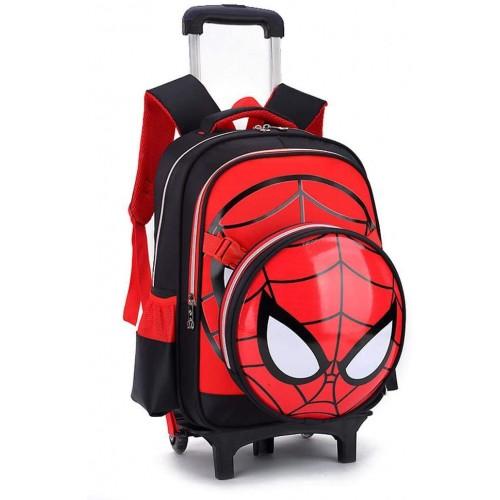 Zaino da Viaggio con rotelle Spiderman - Avengers