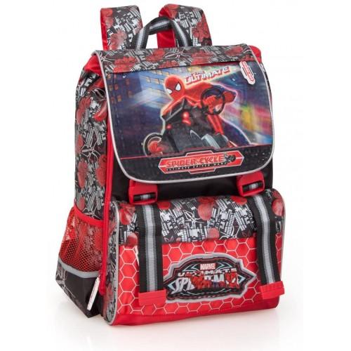 Zaino scuola Spiderman Avengers estensibile