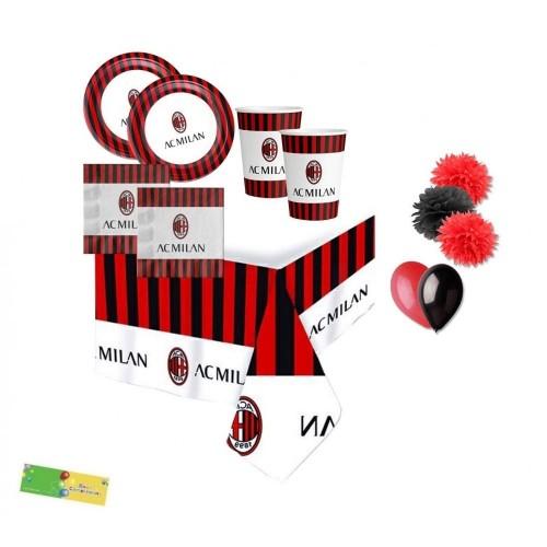 Kit 16 persone A.C Milan con palloncini