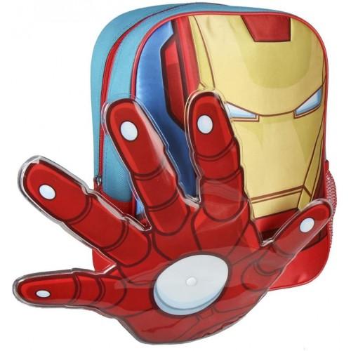 Zaino asilo Iron man 3D - Avengers