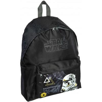 Cartella per la scuola Star Wars Galaxy, colore nero