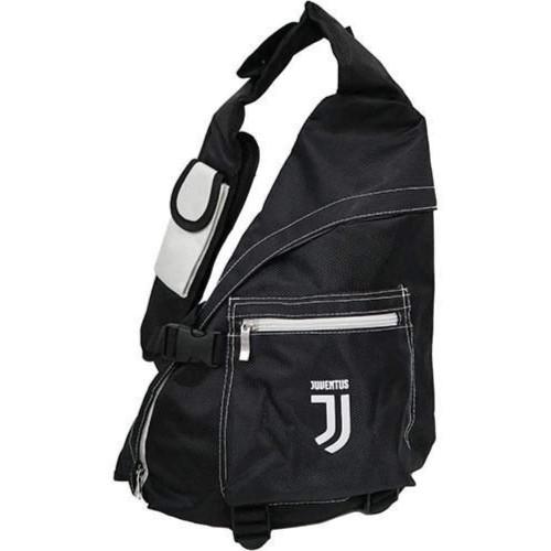 Zaino monospalla Juventus con logo ricamato