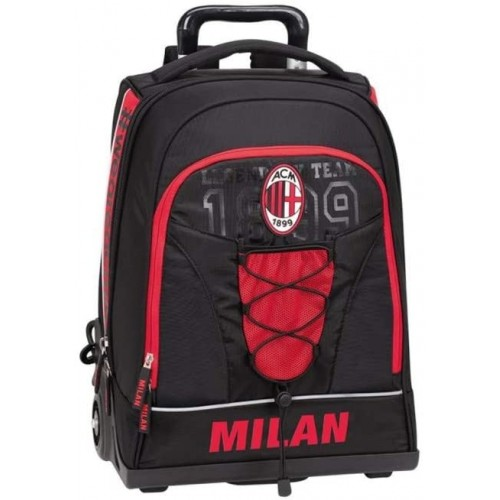 Zaino trolley AC Milan per la scuola