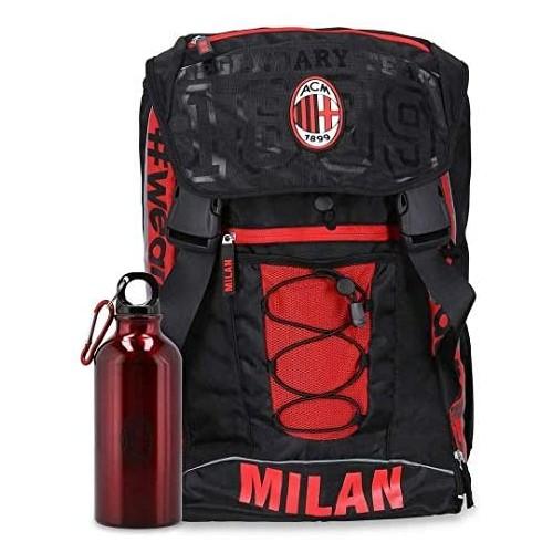 Zaino estendibile AC Milan + Borraccia