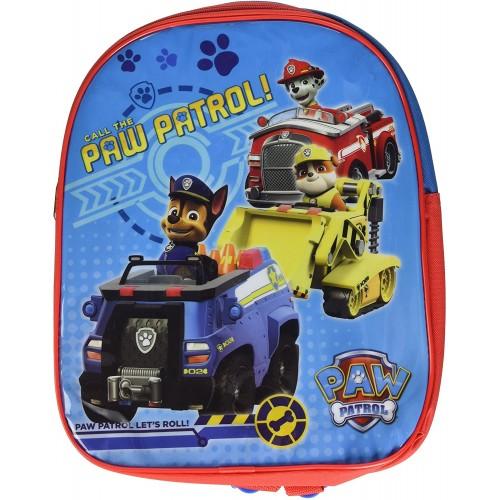 Zainetto blu e rosso - Paw Patrol, per l'asilo