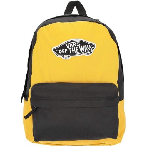 Zaino Vans Realm Pack giallo e nero, Unisex