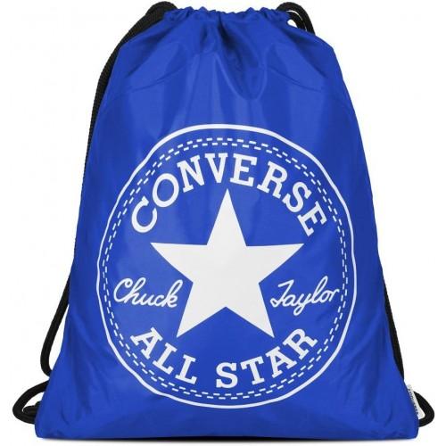 Sacca, borsa Converse unisex colore blu, 100% nylon