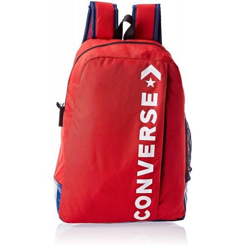 Zaino Converse Speed 2.0, colore rosso, per la scuola