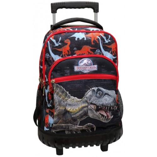 Zaino Trolley Jurassic World - Jurassic Park, per la scuola