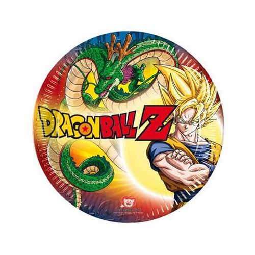 Piatti 20 cm Dragon Ball Z