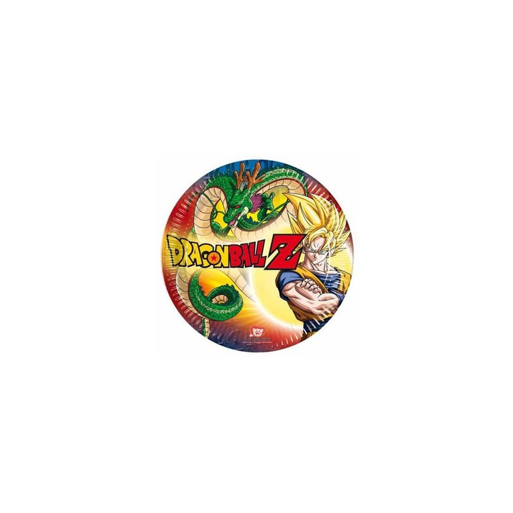 Piatti 20 cm Dragon Ball Z
