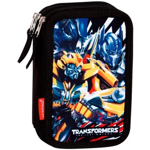 Astuccio triplo Transformers da 20 cm, per la scuola