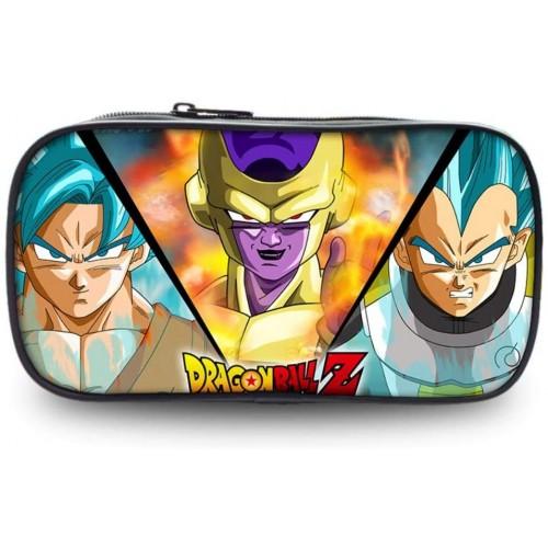 Astuccio Dragon Ball Z, con cerniera in metallo