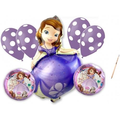 Bouquet palloncini Principessa Sofia