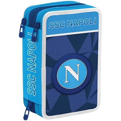 Astuccio con zip SSC Napoli Napoli Sprint da 20 Cm