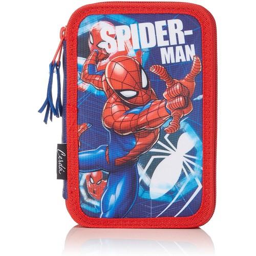 Astuccio Spiderman 3 zip Marvel Original