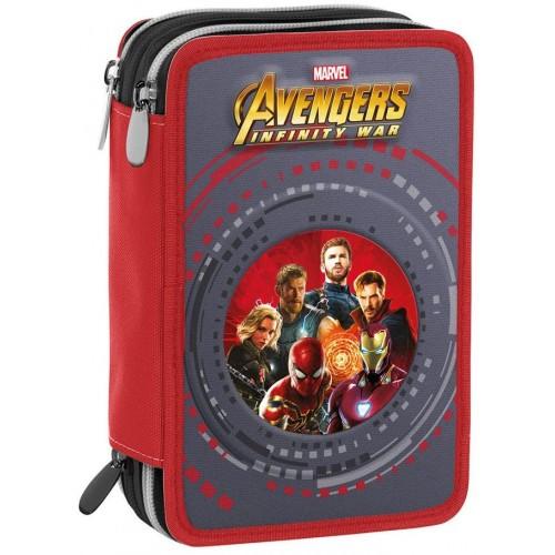 Astuccio 3 Zip Avengers Infinity War - Marvel - Seven Original