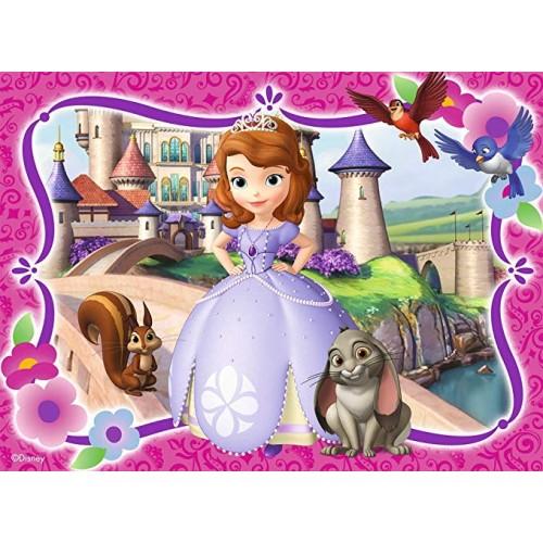 Cialda rettangolare Principessa Sofia
