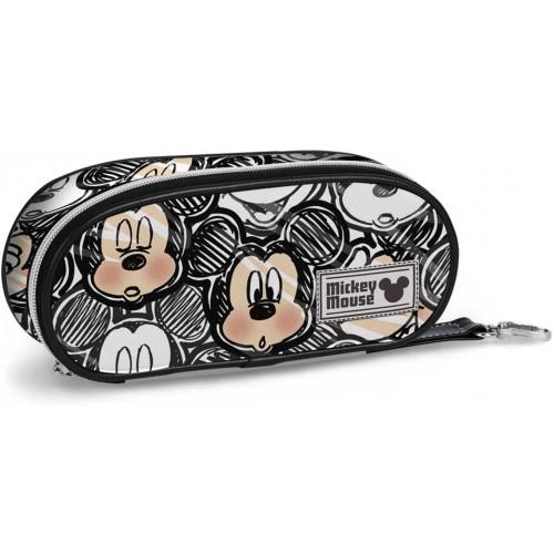 Astuccio Classic Micky Mouse - Disney, con scomparti interni
