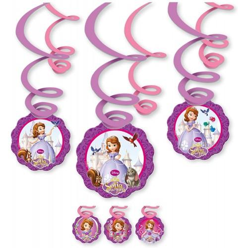 Decorazioni Spirale Principessa Sofia