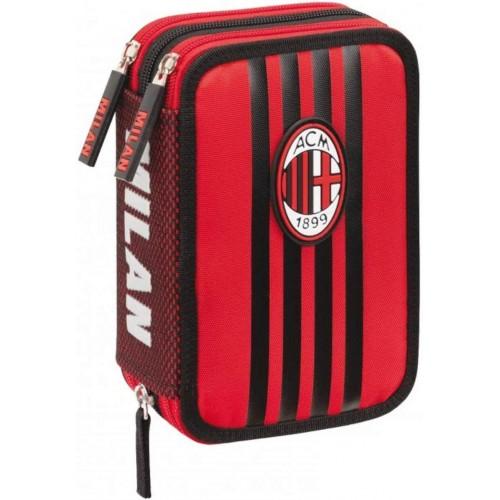Astuccio 3 zip AC Milan, Originale - 2020/2021