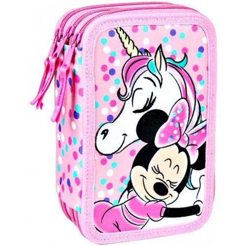 Astuccio Minnie Unicorno rosa da 20 cm, Prodotto ufficiale Disney