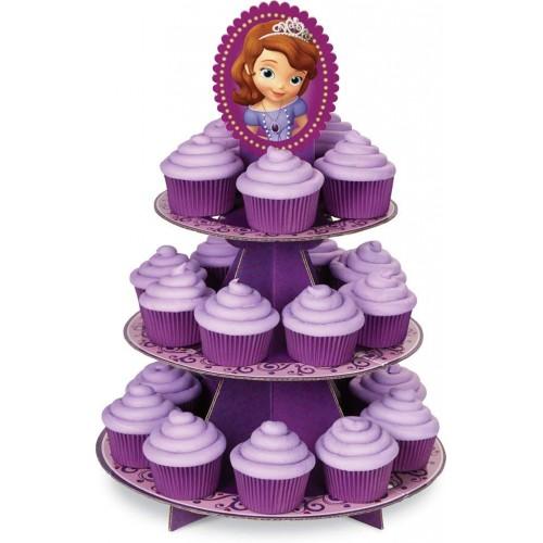 Alzata per muffin Principessa Sofia