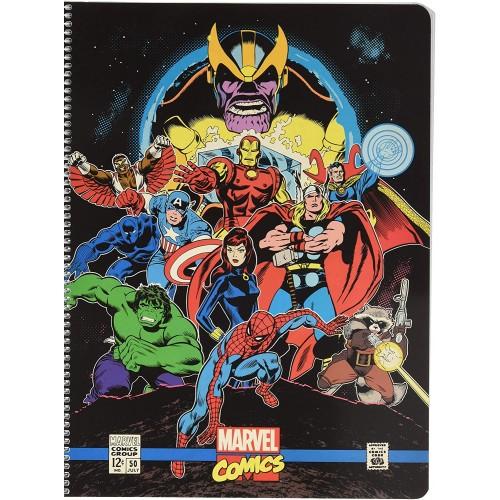 Quaderno a quadretti Marvel Avengers, multiuso