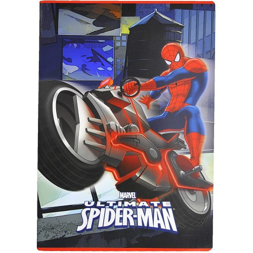 Quaderno quadretti Spiderman - Marvel, A4 Rigatura 10mm