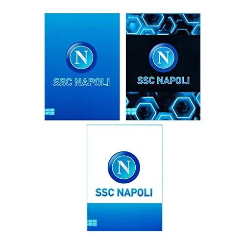 20 Quaderni SSC napoli, grafiche assortite