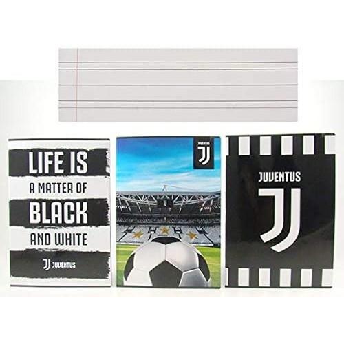 4 Quaderni F.C Juventus a righe, Prodotto Ufficiale
