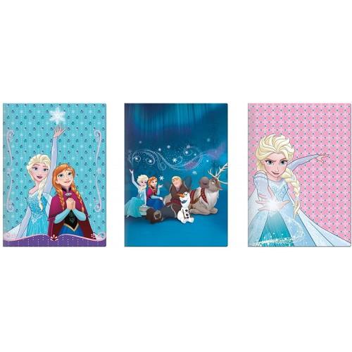 10 Quaderni Frozen Disney a quadretti, per la scuola