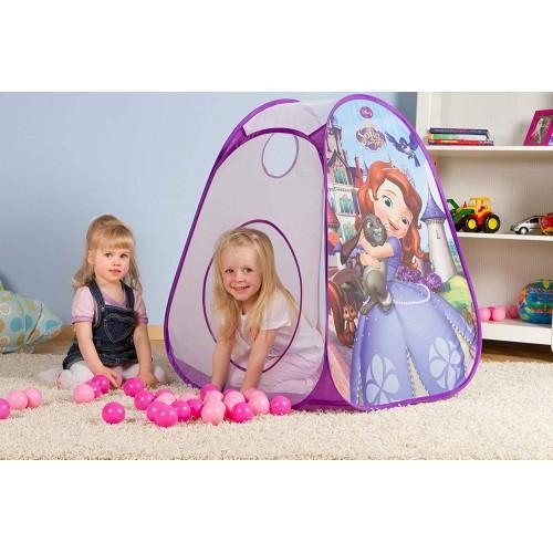 tenda gioco Principessa Sofia con palline