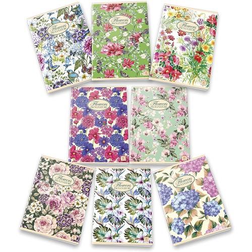 10 Quaderni Nature Flowers - Pigna