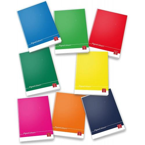 Set 10 quaderni Maxi Pigna a righe R1, Pigna Colours