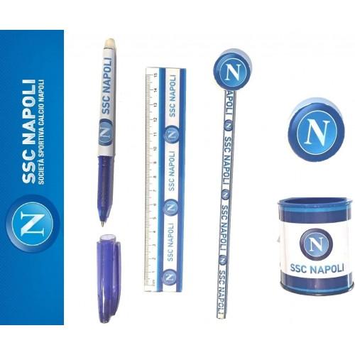 Set Scuola S.S.C Napoli Calcio, cancelleria per la scuola