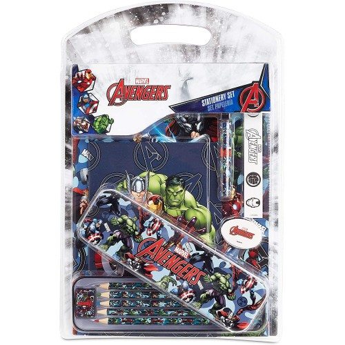 Kit cancelleria Avengers per la Scuola - Marvel Original